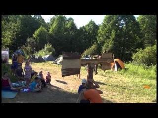 летний семейный лагерь РАТЬ-2014 видеоролик