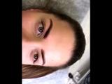 Перманентный макияж бровей (сразу после процедуры) Мастер Екатерина Р