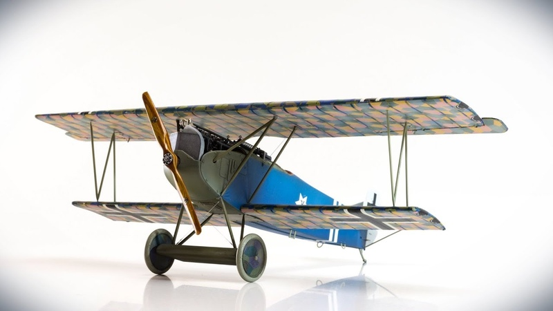 Wingnut Wings Fokker D.VII-early, 1/32, Stopmotion