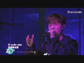 181222 EXO Lay Yixing - O Sole Mio @ Rave Now