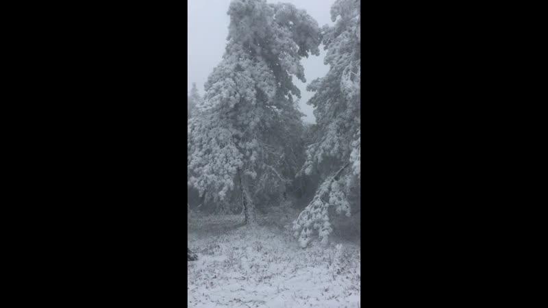 Караби-яйла.Зима пришла в ноябре.2018