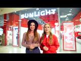 Анна Седокова и Рита Дакота в ювелирном гипермакете SUNLIGHT