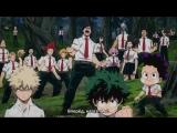 Boku no Hero Academia   Моя геройская академия 3 PV (rus sub)