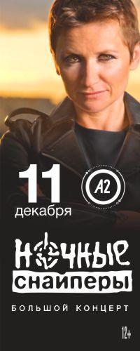 11.12 - Диана Арбенина - Ночные Снайперы @ ПИТЕР