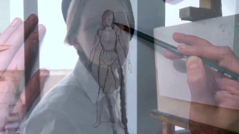 Рисунок человека карандашом. Как измерить пропорции.