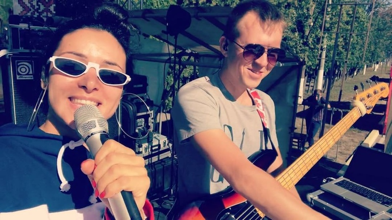 "ZLATA OGNEVICH on Instagram: ""Сьогодні два концерти, і ми вже готові до обох 🔥 До зустрічі ✌🏽 zlataognevich DOLONI soundcheck live music sun..."