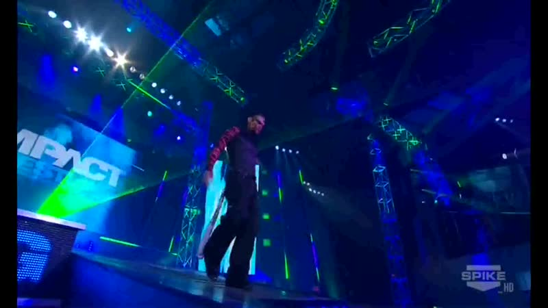 TNA Impact Wrestling! 19.04.2012 - Jeff Hardy vs Mr. Anderson vs Rob Van Dam