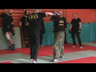 Секторная защита. Как защищаться от ударов.S.P.A.S.