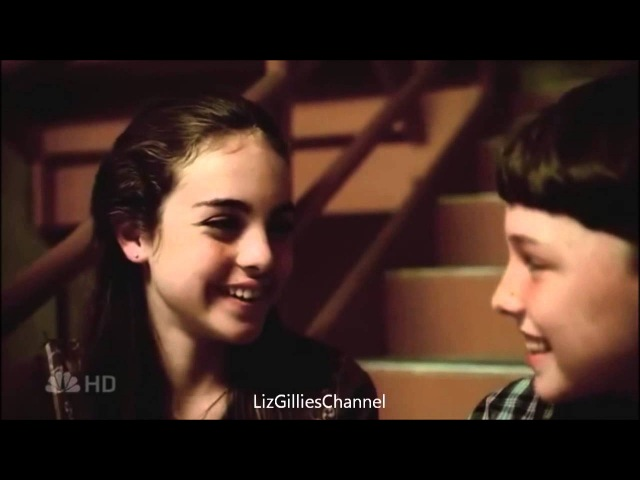 Liz Gillies on The Black Donnellys 2007 (as young Jenny)