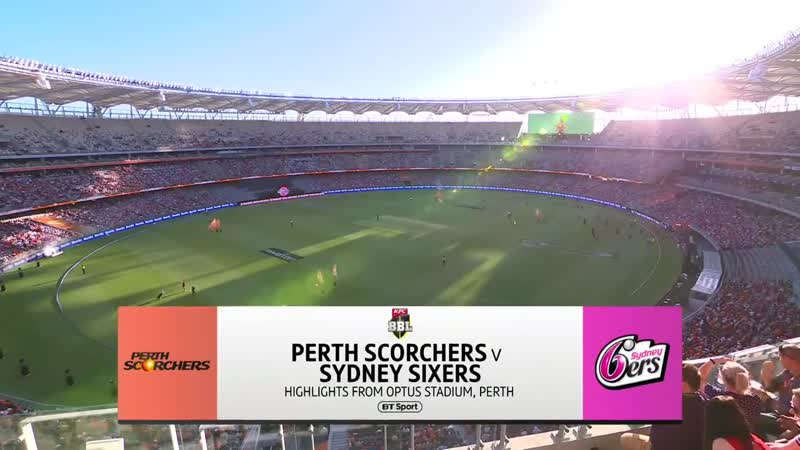 Perth Scorchers v Sydney Sixers Highlights, Jan. 13, 2019 - AUSTRALIA - CRICKET - BBL - КРИКЕТ