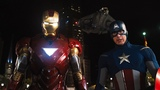 Captain America &amp Iron Man vs Loki The Avengers (2012) Movie Clip HD