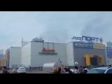 В Казани горит ТЦ Порт