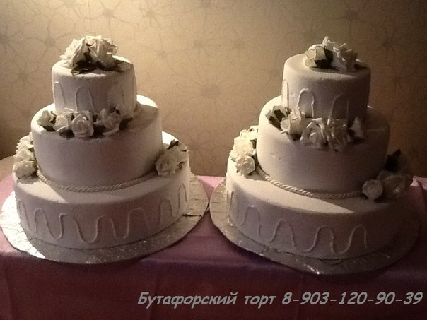 Искусственный торт своими руками