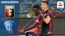 Genoa 2-1 Empoli | Le due reti segnate nel primo tempo garantiscono la vittoria del Genoa | Serie A