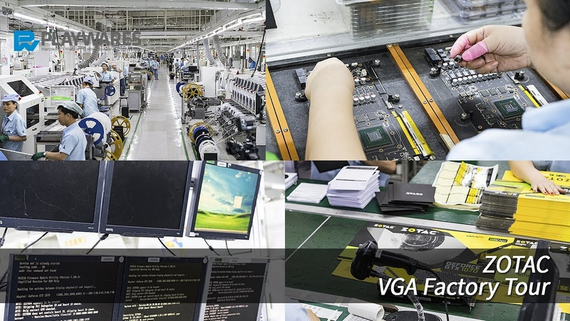 ZOTAC Factory Tour