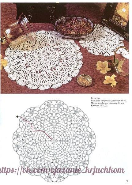 Delicadezas en crochet gabriela tapetes en ganchillo - Patrones tapetes ganchillo ...