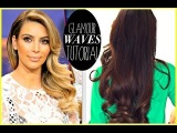 ★ KIM KARDASHIAN EVERYDAY OLD HOLLYWOOD CURLS |  EASY HAIRSTYLES FOR LONG HAIR TUTORIAL & GIVEAWAY