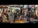 First Look ! Hot Toys 1/6 Avengers: Infinity War Figures@Festival Walk