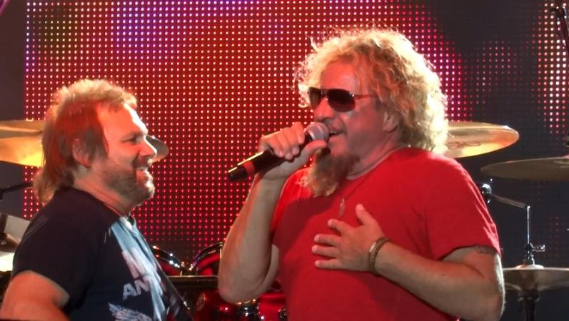 Sammy Hagar Poundcake Van Halen (HD) (HQ Audio) Live 732015 Naperville IL