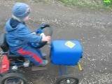самодельная машина для детей