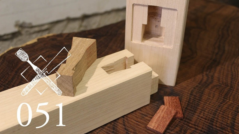 Joint Venture Ep. 51: Right angle joint with spline tenon Yatoi Hozo (Japanese Joinery)