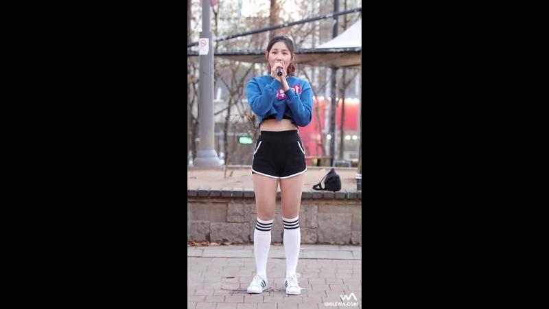 [fancam] Ryua - I hope so now (Lena Park) @ Hongdae Busking 161201 -wA
