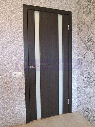 сколько в среднем стоит установка металлической двери