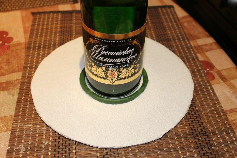 Ёлочка на шампанском с конфетами. МК