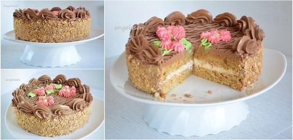 Безе для киевского торта