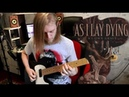 As I Lay Dying My Own Grave guitar cover