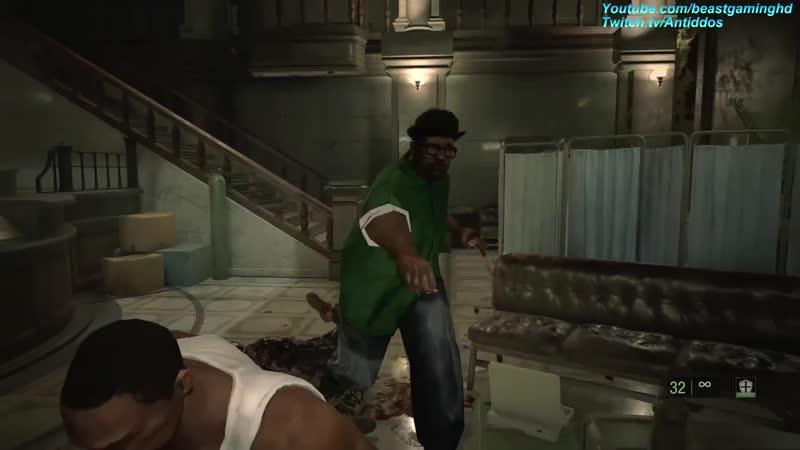 Resident Evil 2 Remake GTA CJ Meets Big Smoke MOD ٭read desc٭