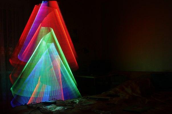 Как сделать цветной свет фото 814