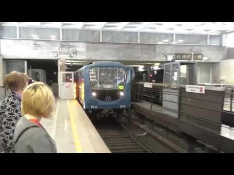 Метропоезд 81-717.5П/81-541 (Номерной-Пришелец) №400 (перегонка)