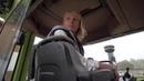 Трактор Mercedes-Benz Trac 1600 turbo на пахоте с плугом LEMKEN Juwel 8