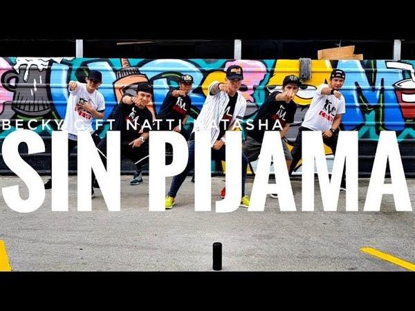 SIN PIJAMA by Becky G ft Natti Natasha | Zumba | Latin Pop | Kramer Pastrana