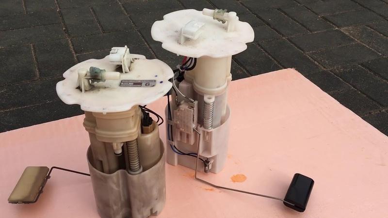 Infiniti fx 35 (how to change fuel pump) замена бензонасоса