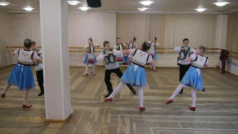 Закарпатский танец