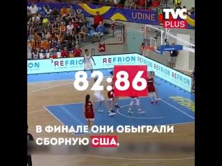 Баскетбол. Чемпионата Мира U19. Российские девушки впервые стали чемпионками мира по баскетболу.