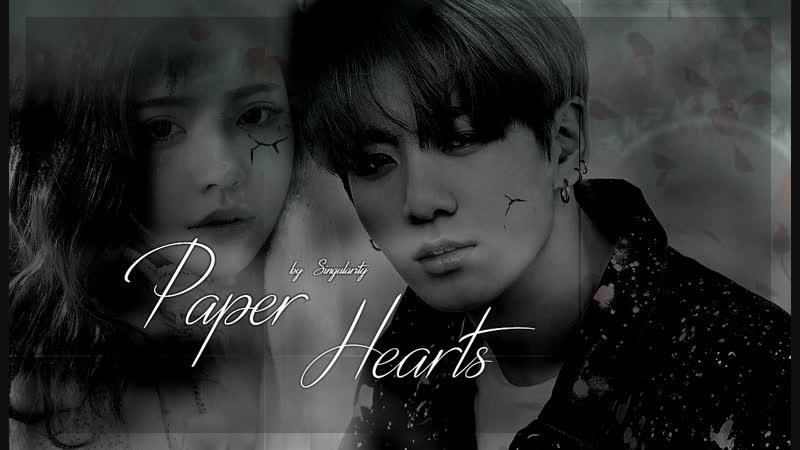 BTS [ Paper Hearts] ~Fanfic Trailer. (AU/Soulmate)