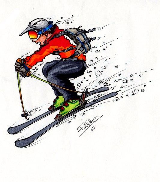 Инструктор по катанию на лыжахначальная подготовка, совершенствование техникипервое занятия бесплатно!