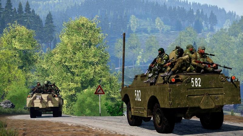 Одиночная Кампания «Пять дней войны» для ARMA 3