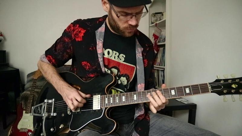 Beavis and Butt-Head Theme Song -Guitar Cover by Mat Sturmey