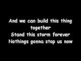 Jefferson Starship - Nothings gonna stop us now (Lyrics)