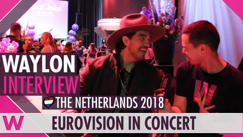 Waylon (The Netherlands) Interview | Eurovision in Concert 2018
