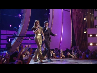 (HD) Beyonce Justin Timberlake - Aint Nothing Like the Real Thing (Fashion Rocks 2008) live