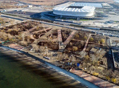 На реконструкцию пляжной зоны на левом берегу Дона потратили 694 млн рублей