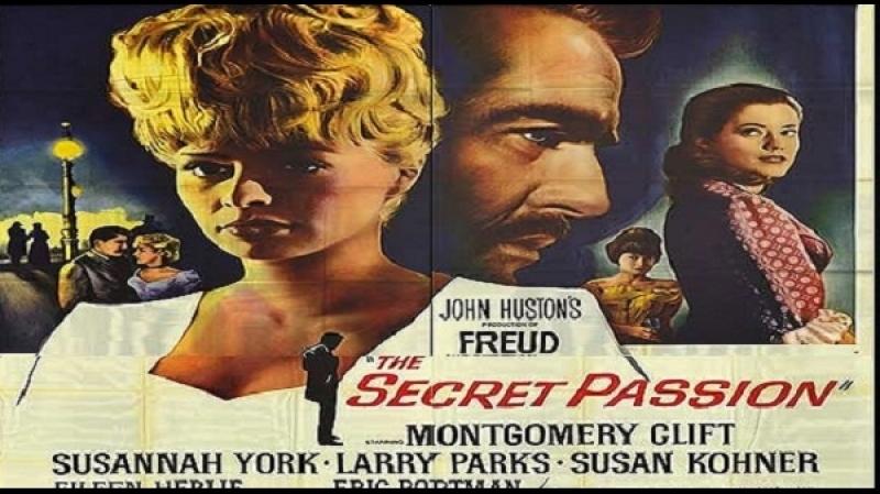 1962 John Huston -Freud The Secret Passion-.(dual mux John Huston, Montgomery Clift, Susannah York, Larry Parks