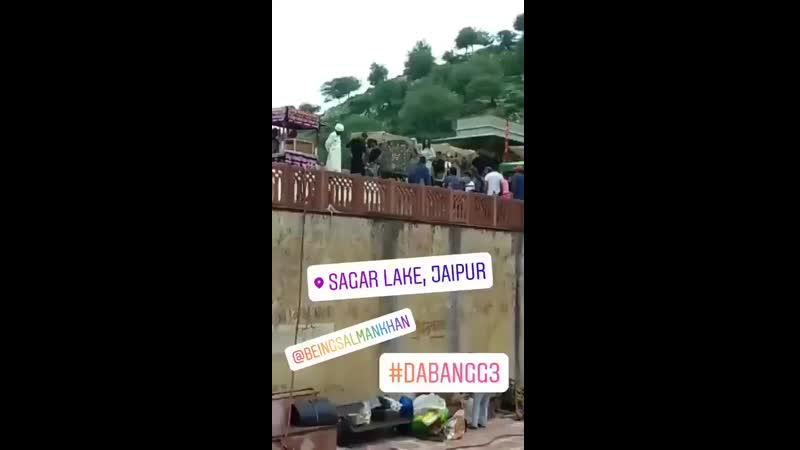 Here Is Dabangg3 Shooting Mode On In Jaipur - SalmanKhan - Dabangg3ThisXmas.mp4