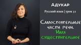 Самостоятельные части речи. Имя существительное Русский язык