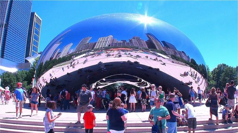 Чикаго. США. Даунтаун. Chicago Downtown Core.